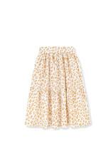 Kids on the moon Kids on the moon - Golden leopard cascade skirt