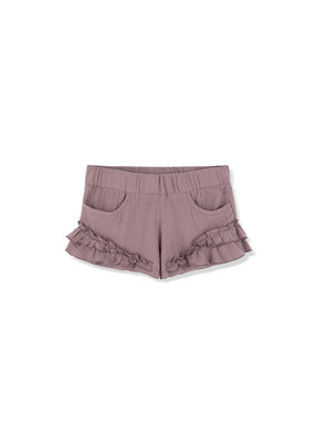 Kids on the moon Kids on the moon - Foggy day ruffle shorts