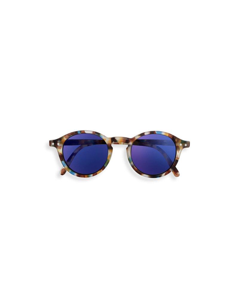 Izipizi Izipizi  : #D Sun Junior Blue Tortoise Mirrow
