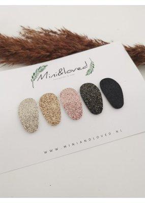 Mini and Loved Mini & Loved - Haarspeldjes glitter 5 stuks