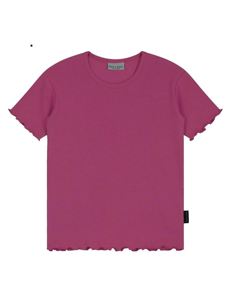 Daily Brat Daily Brat - Rosie t-shirt Fuchsia Rose