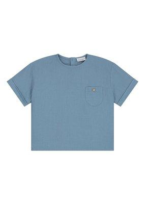 Daily Brat Daily Brat - Hudson t-shirt Ocean Blue