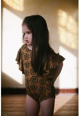 Daily Brat Daily Brat - Ivy ruffle bodysuit Sandstone