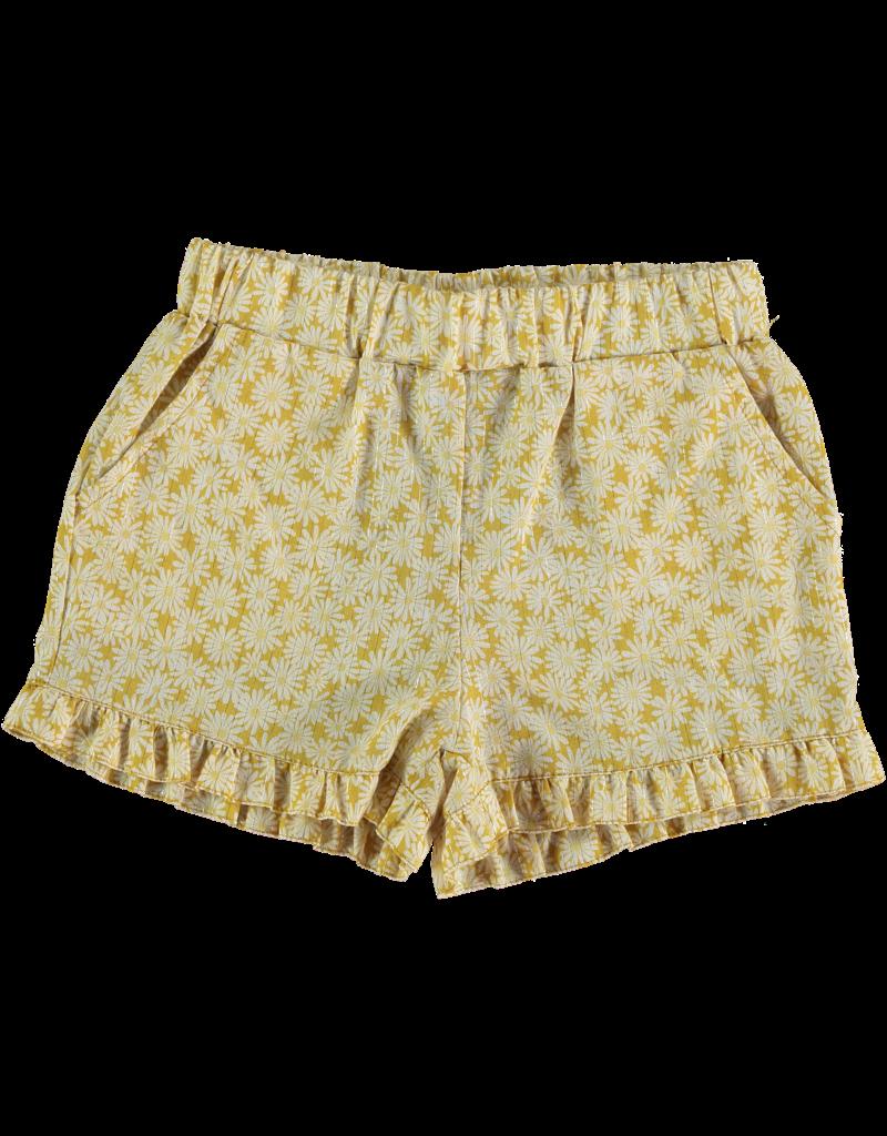 Piñata Pum Piñata Pum - Azucararos yellow daisies shorts