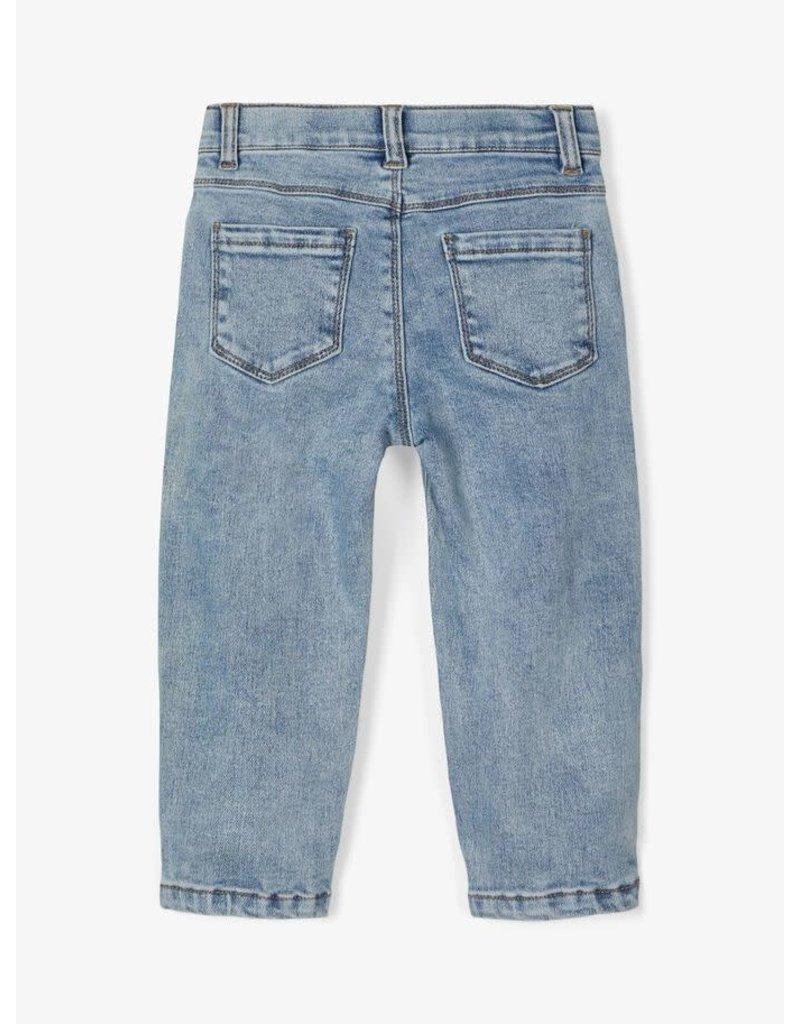 Lil ' Atelier Lil' Atelier : Bibi Denim shape pants baggy round
