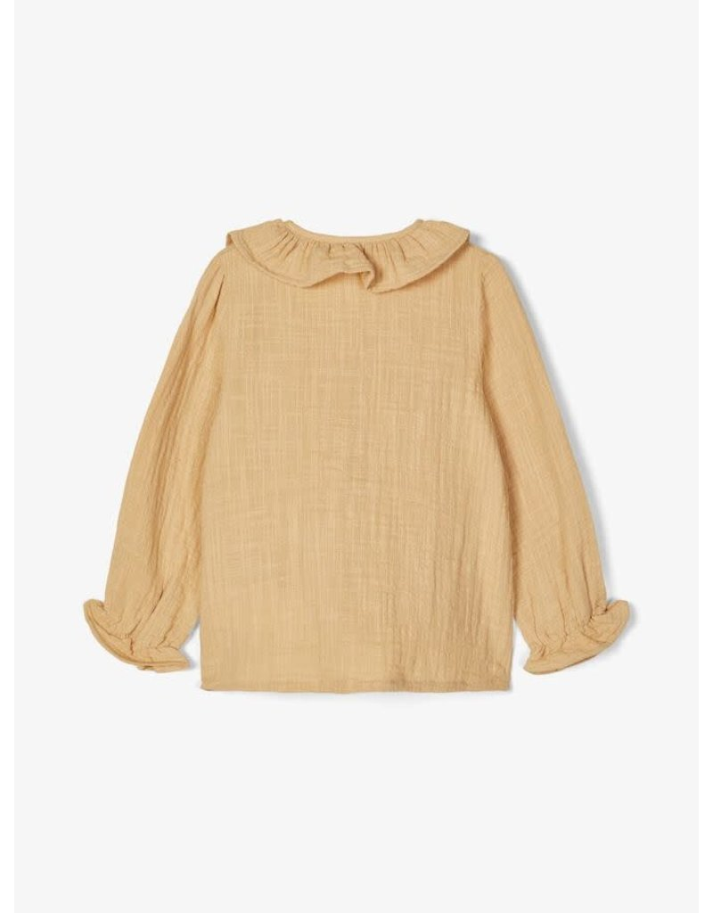Lil ' Atelier Lil' Atelier: Fina Blouse taupe