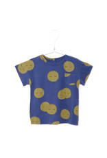 Lötiekids Lötiekids : Tshirt short sleeve moons ( indigo blue )