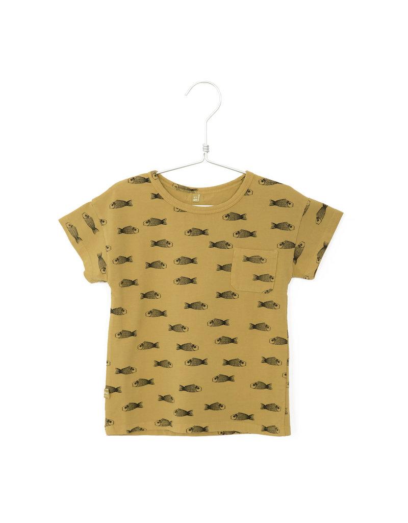 Lötiekids Lötiekids - short sleeve fishes (sun yellow)