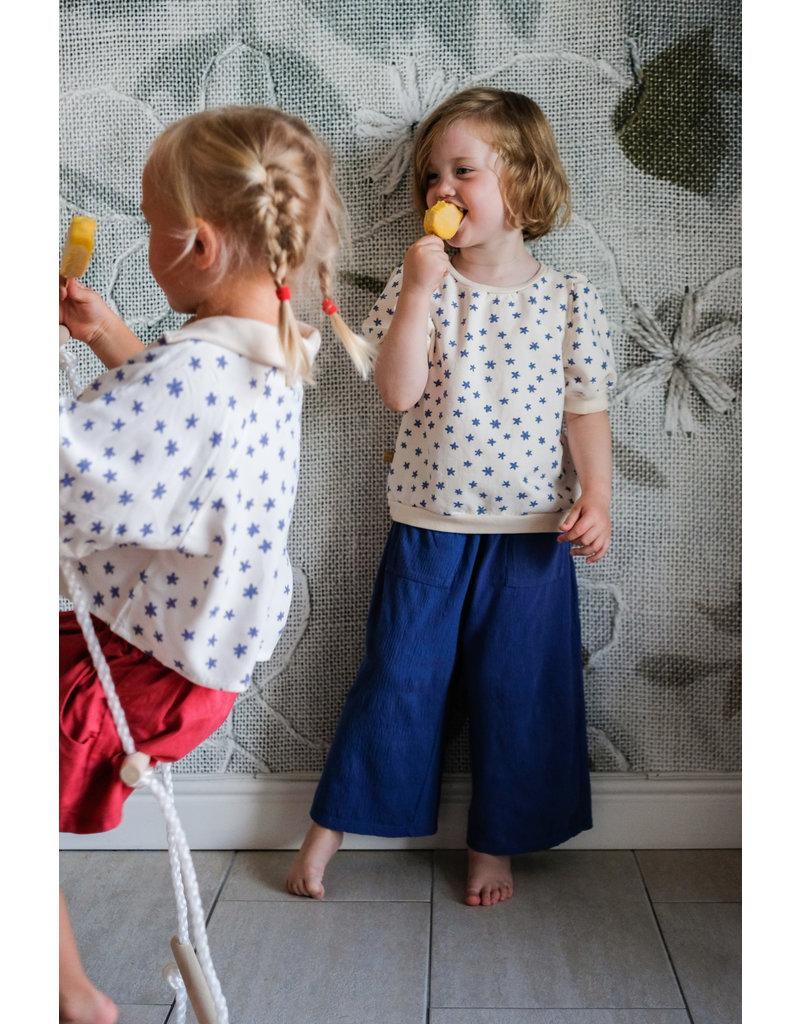 Lötiekids Lötiekids : Culotte pants solid ( indigo blue)