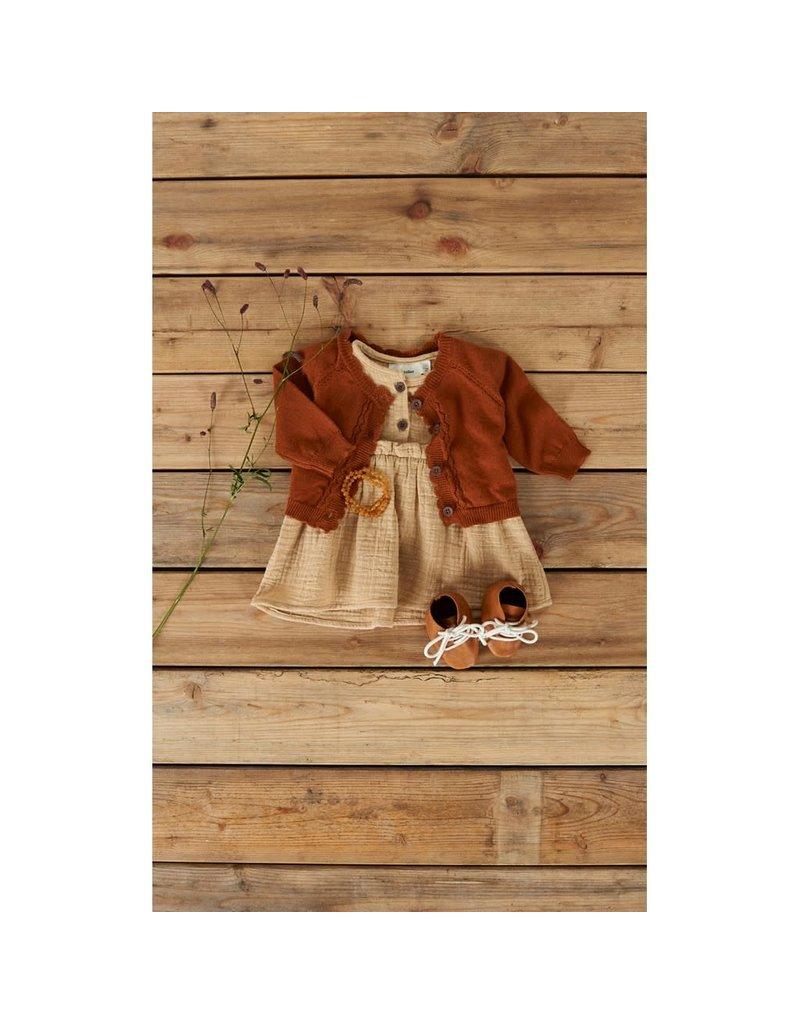 Lil ' Atelier Lil' Atelier : Knit vestje glazed ginger