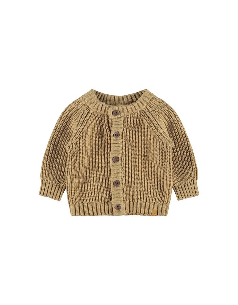 Lil ' Atelier Lil' Atelier : Knit  gebreid - Apple cinnamon /Melange