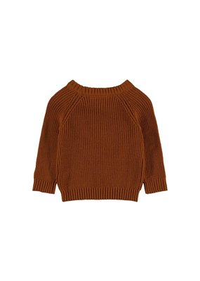 Lil ' Atelier Lil' Atelier : Knit sweater ( Glazed ginger )