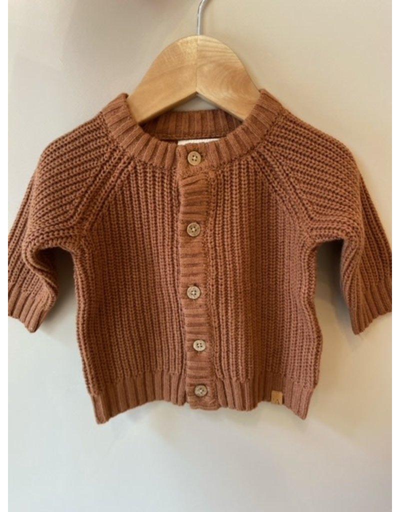 Lil ' Atelier Lil' Atelier : Knit gebreid - Glazed ginger