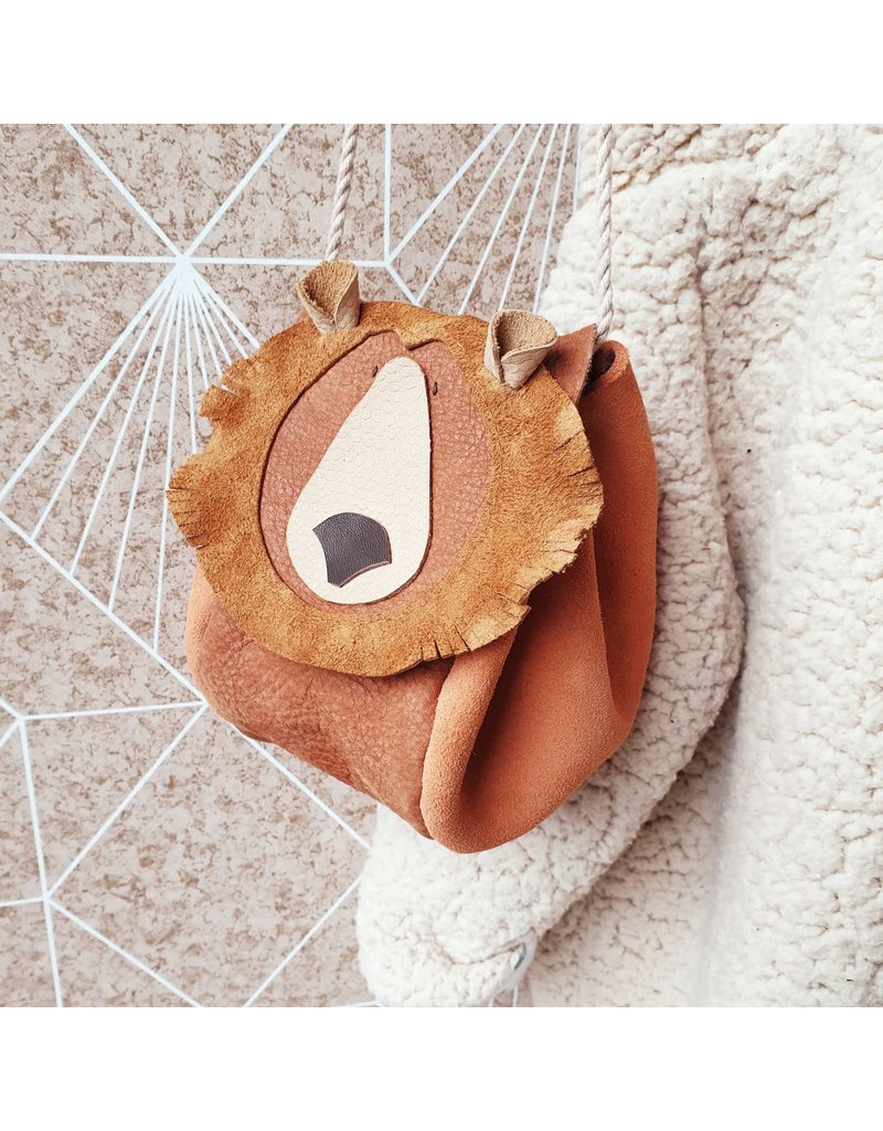 Atelier Ovive Atelier Ovive: Grizzly Bear bag rust/camel
