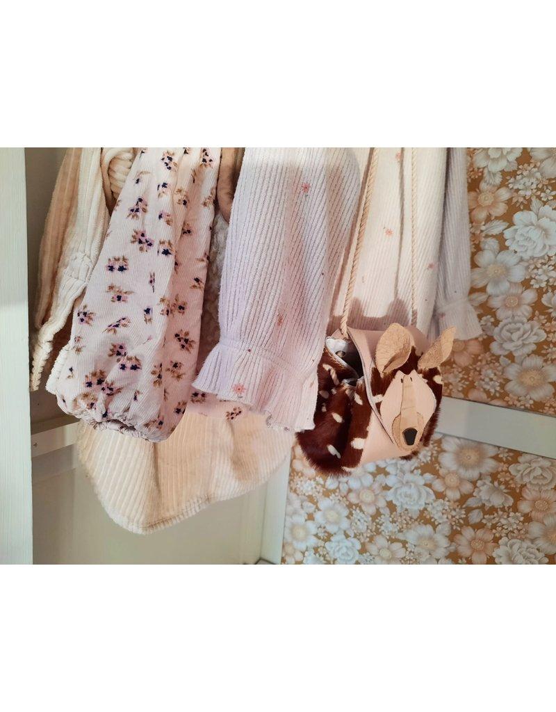 Atelier Ovive Atelier Ovive : Deer bag french roze