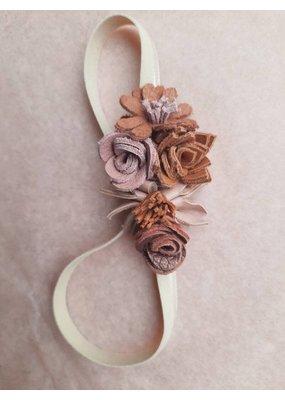 Atelier Ovive Atelier Ovive : Wild flower haarband nude palette