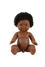 Paola Reina Paola Reina : Baby pop gordi jongen met krullen (34cm)