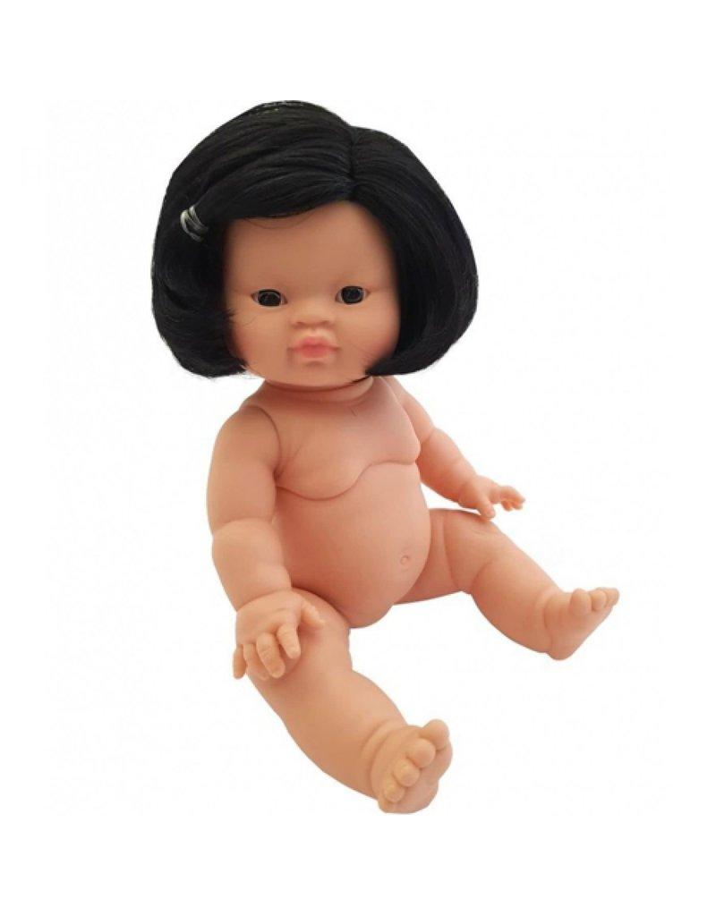 Paola Reina Paola Reina : babypop gordi met zwart haar aziatisch