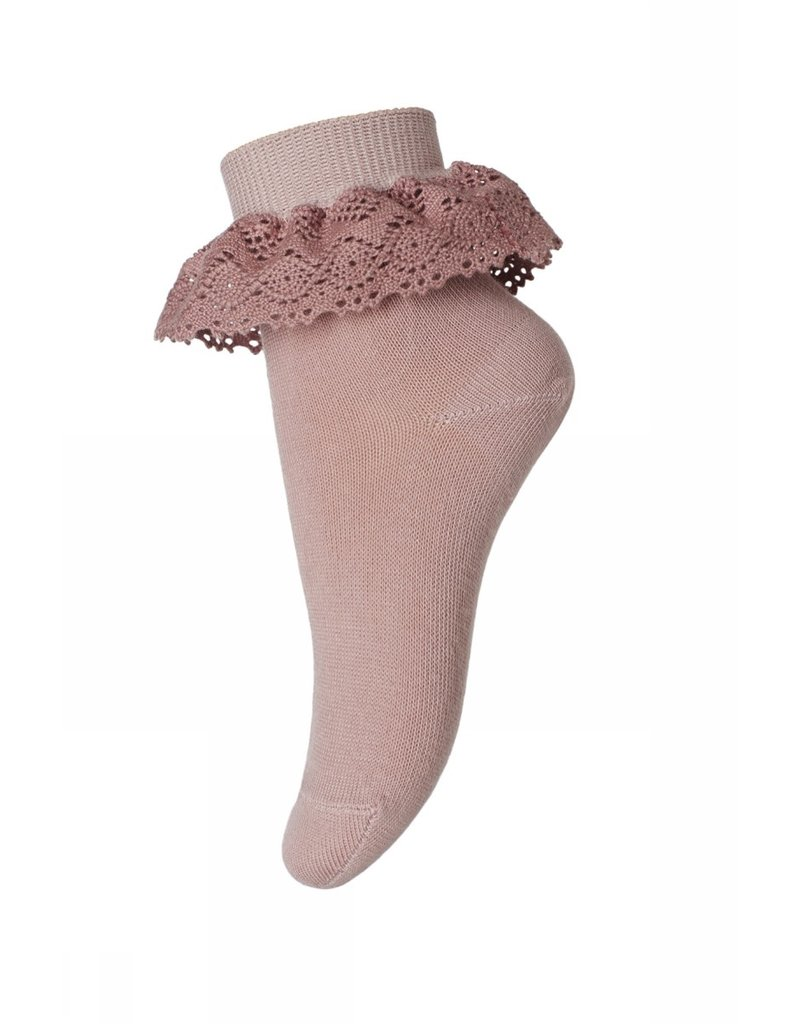 MP Denmark MP Denmark : Filippa socks wiht lace Roze