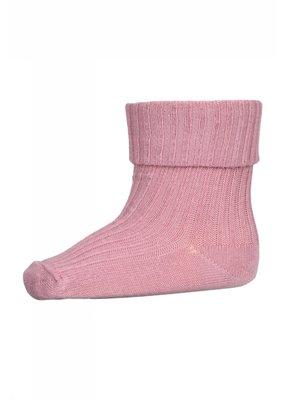 MP Denmark MP Denmark : Cotton rib baby sokken Roze