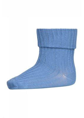 MP Denmark MP Denmark : Cotton rib baby sokken Blauw