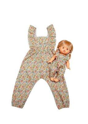 Minikane Minikane: Poppen jurkje en  Jurk 12 maanden ( matching)