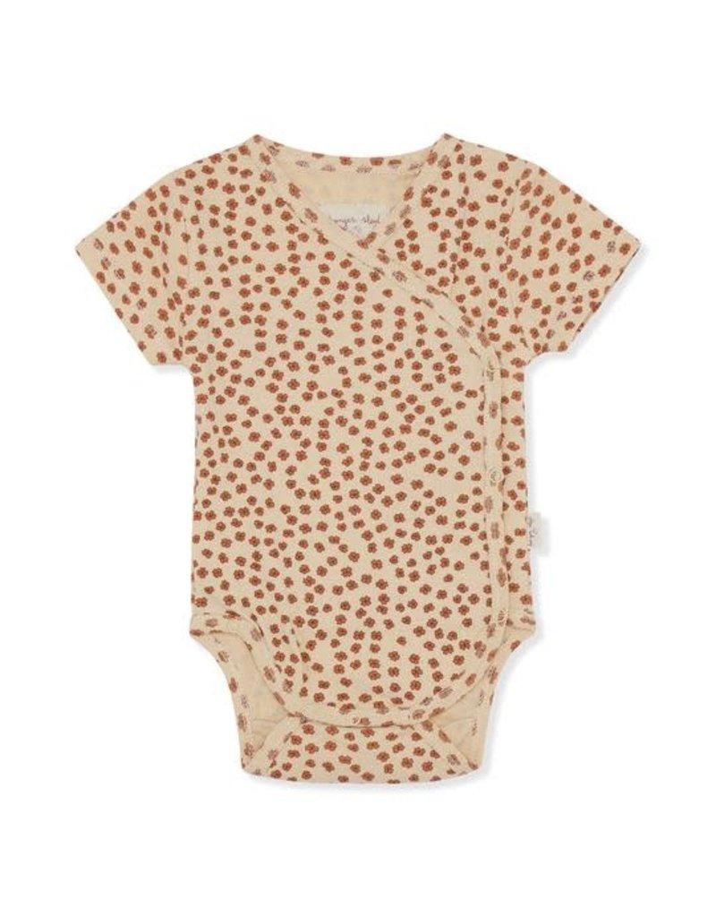 Konges Sløjd Konges Sløjd : New born body short sleeve buttercup rosa