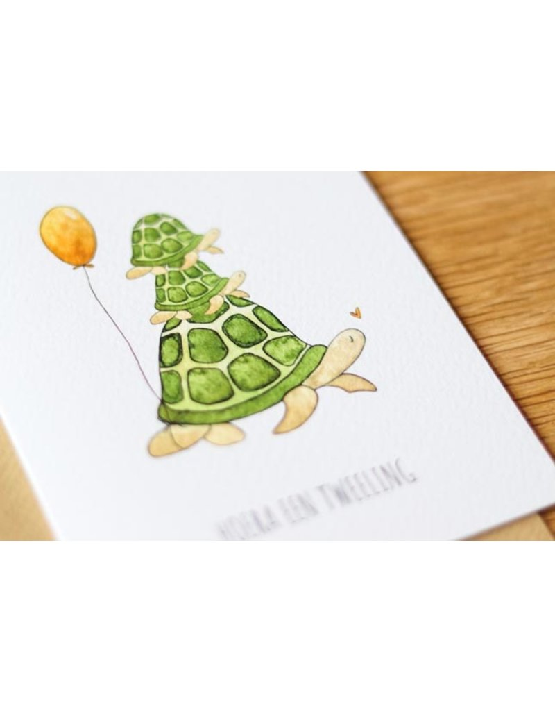 Juulz Juulz : kaart Tweeling schildpad