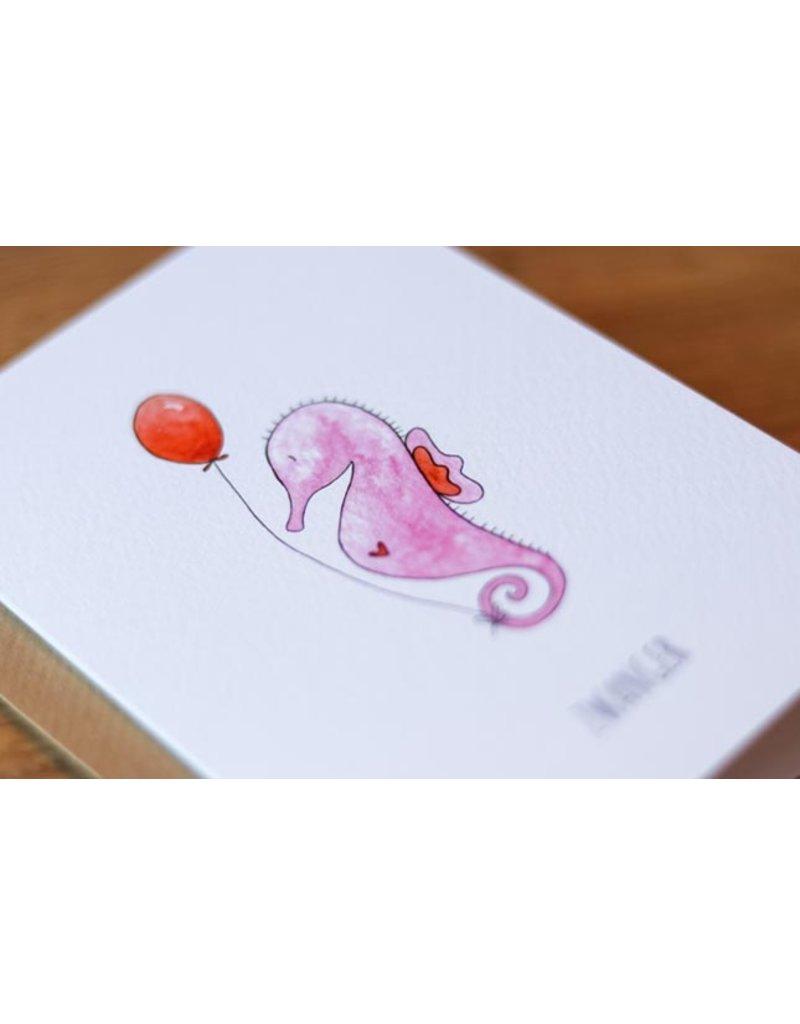 Juulz Juulz : kaart zwanger zeepaardje