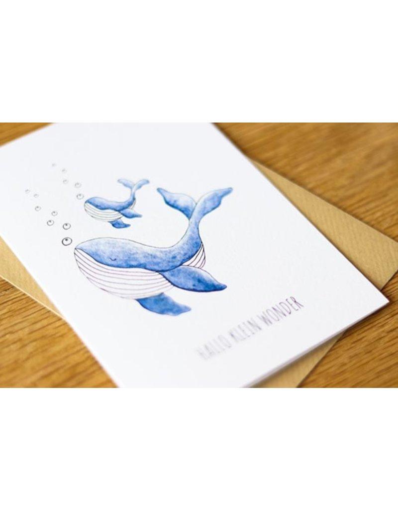 Juulz Juulz: kaart Geboorte jongen walvis