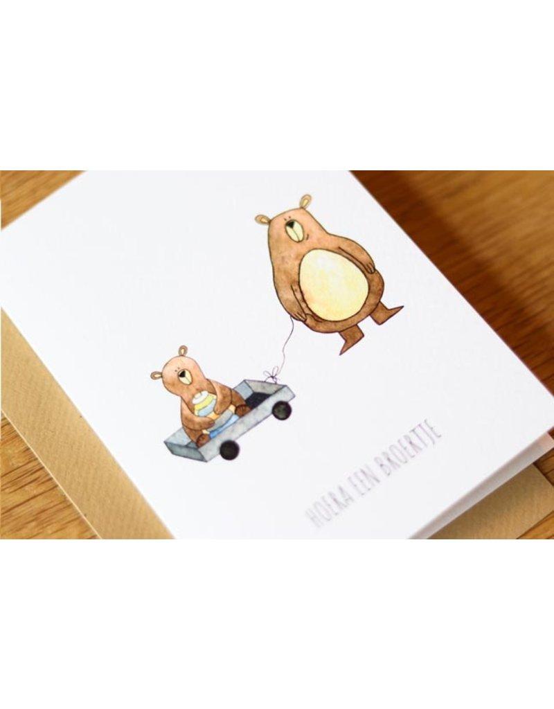 Juulz Juulz : kaart broertje beren