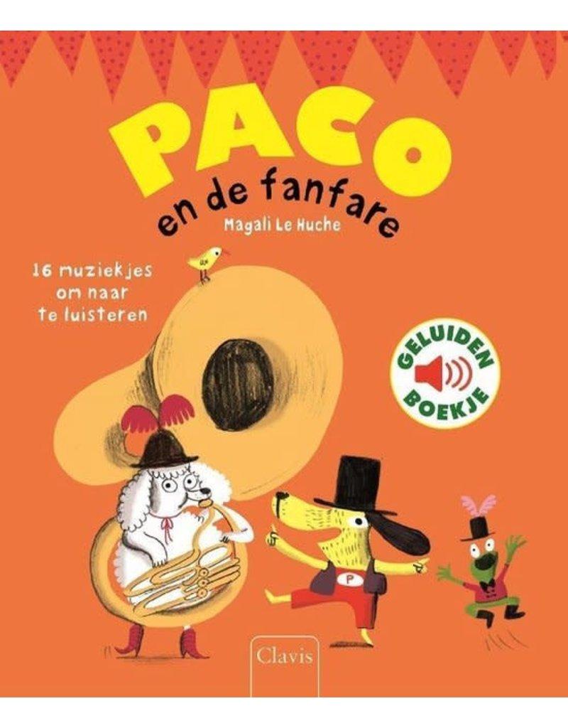 Boeken Boek : Paco en de fanfare ( geluidenboek)