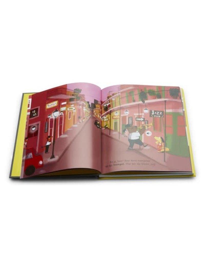 Boeken Boek : Paco en de jazzband ( geluidenboek)