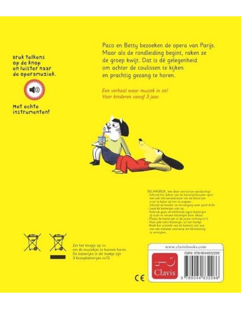 Boeken Boek : Paco gaat naar de opera ( geluidenboekje)