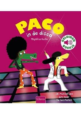 Boeken Boek : Paco in de disco ( geluidenboek)