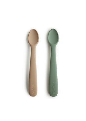 Mushie Mushie : Baby spoon - dried thyme/ naturel