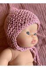 Mamabel Mamabel : Poppen Bonnet - kleur roze