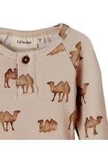 Lil ' Atelier Lil ' Atelier :  romper Camel Geo beige/bruin