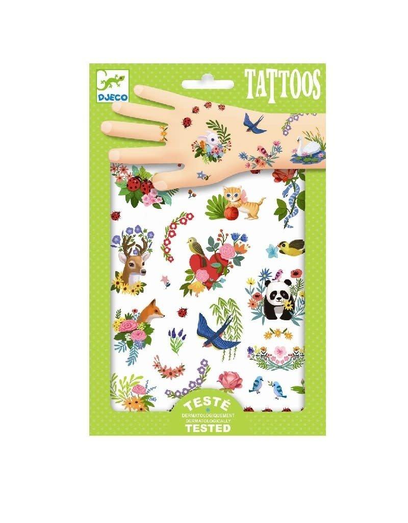 Djeco Djeco : Happy spring tattoo