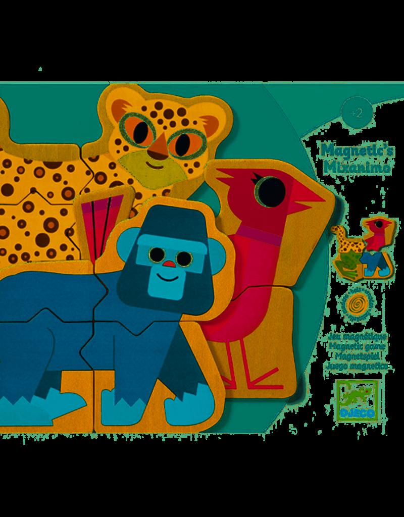 Djeco Djeco : Magneten Mixanimo puzzel