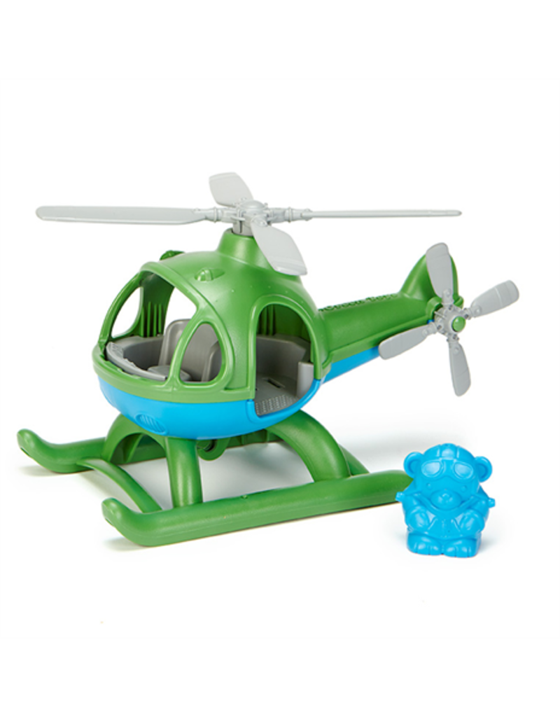 Greentoys Green toys : Helicopter groen