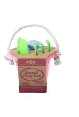 Greentoys Green toys : Zandkastelen set roze
