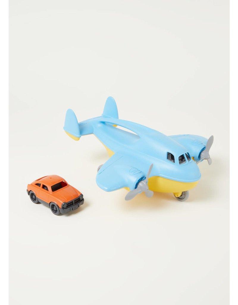 Greentoys Green toys : Vliegtuig met auto ( cargo plane )