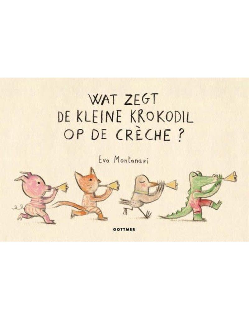 Boeken Boek : Wat zegt de kleine krokodil op de crèche?