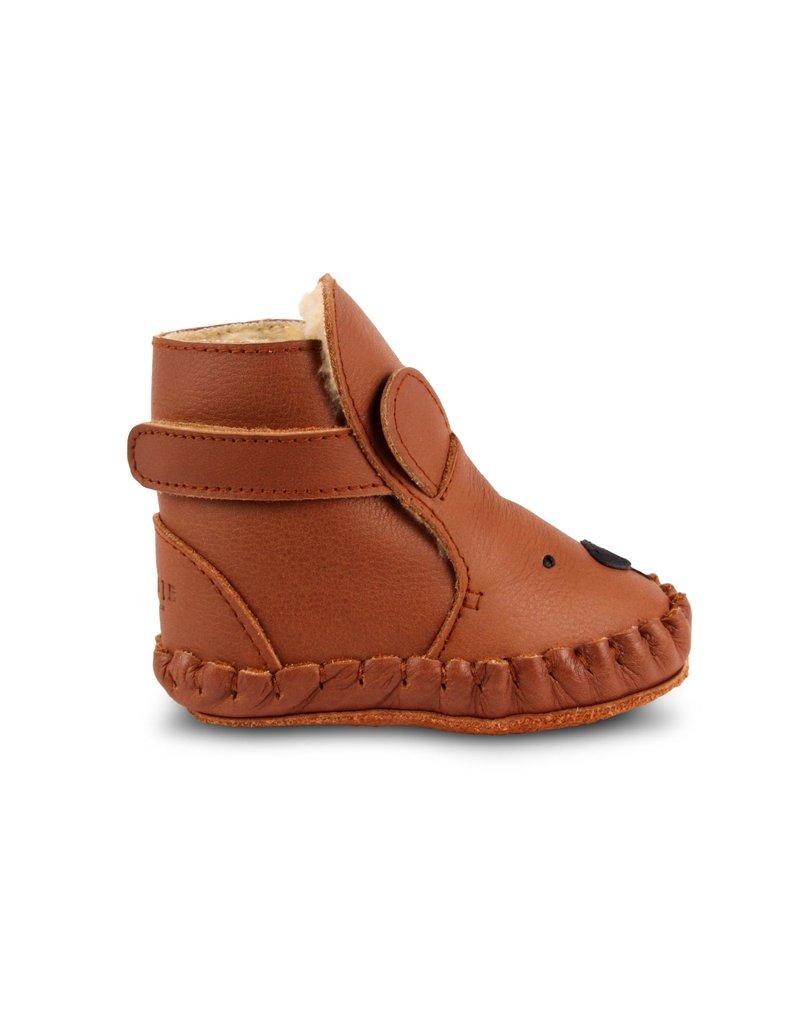 Donsje Amsterdam Donsje Amsterdam : Kapi Classic - Bear - Cognac classic leather