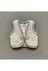 Alwero Alwero : Bodywarmer licht grijs maat S 104-110