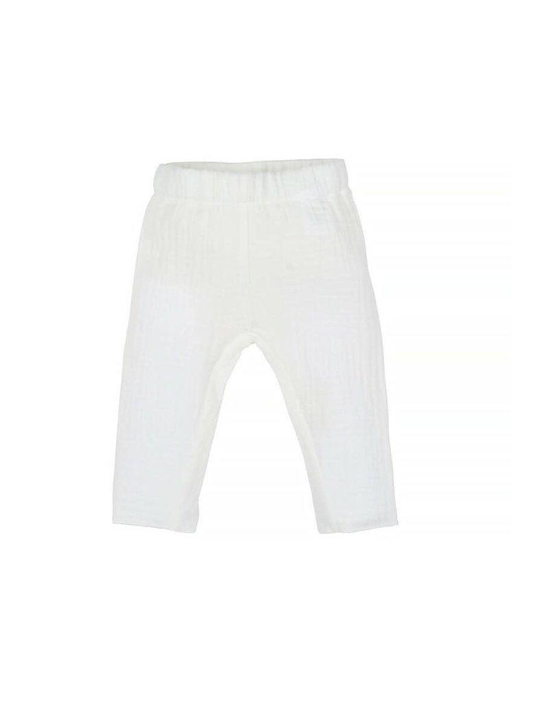 Nanami Nanami - Baby mousseline pants 50-56 off-white
