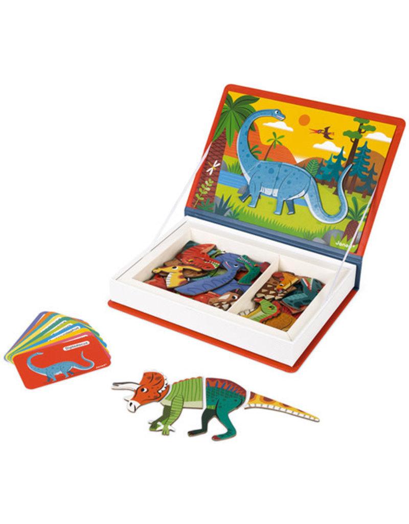 Janod Janod : Magnetibook - Dinosaurus