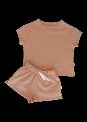 Feeën mini Feeën mini : Summer lounge wear - peach