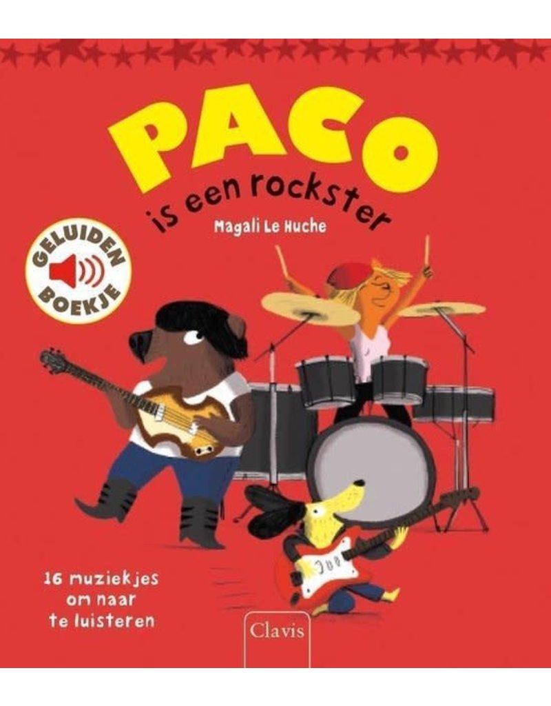 Boeken Boek : Paco is een rockster ( geluidenboek )